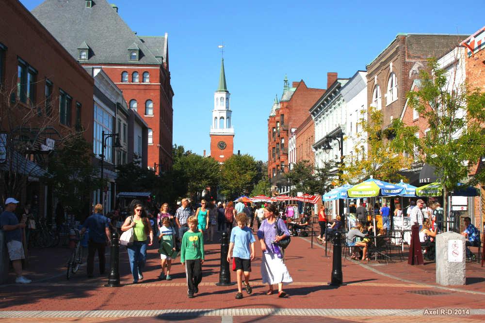 Burlington Vermont - Church Street