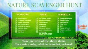 Free download scavenger hunt for kids