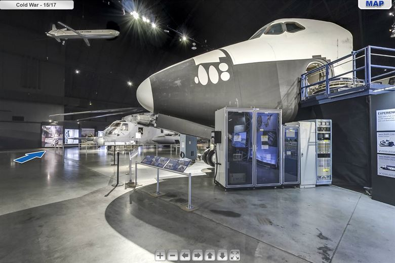 National Museum of the USAF - virtual tour screenshot