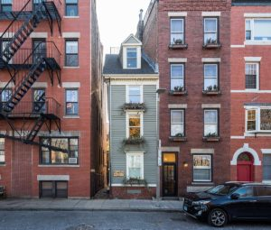 Skinniest house Boston USA